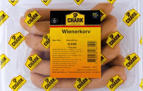 Wienerkorv 440g