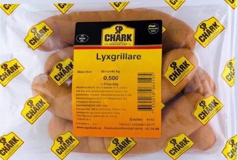 Lyxgrillare 500g