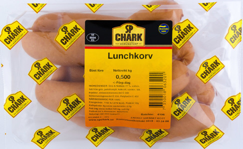 Lunchkorv 500g