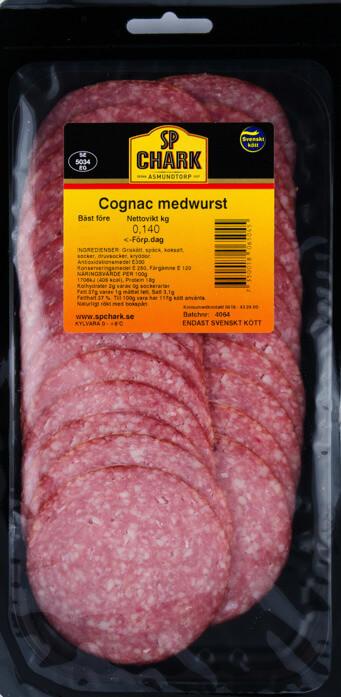 Cognac medwurst