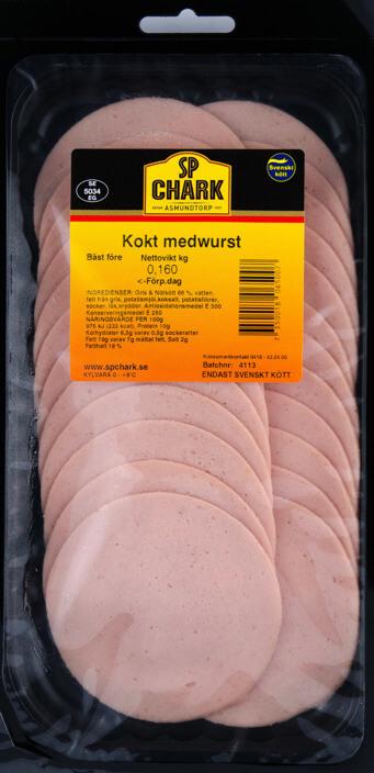 Kokt medwurst