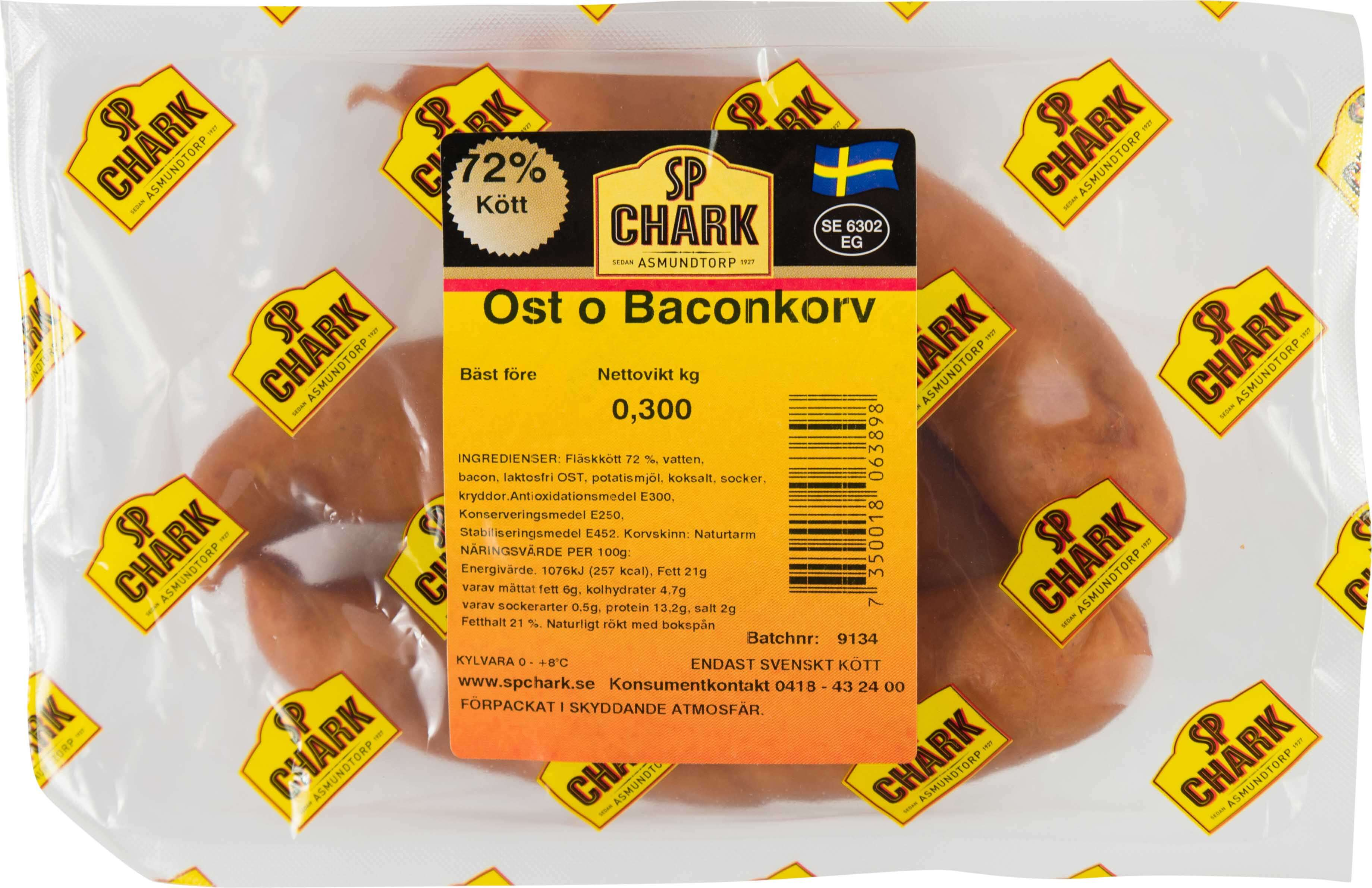 Ost & Baconkorv